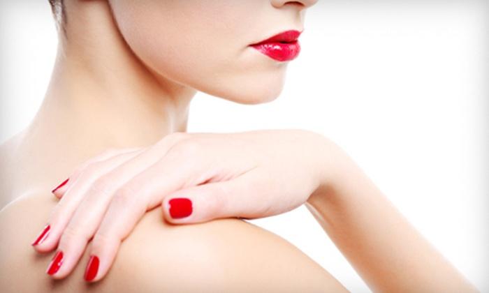 Rejuve Nail & Skin Day Spa - Bala Cynwyd: Gel Mani, Spa Mani with Hot-Stone Pedi, or Spa Mani with Facial and Massage at Rejuve Nail & Skin Day Spa (Up to 53% Off)