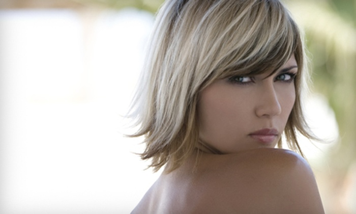 Southern Chic Salon with Kelly Roberts - Lexington: Haircut and Style, Haircut and Color, or Haircut and Highlights with Kelly Roberts at Southern Chic Salon (Up to 54% Off)