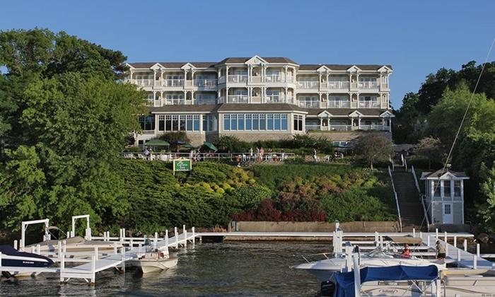 The Geneva Inn - Linn: 1-Night Stay for 2 at The Geneva Inn in Lake Geneva, WI