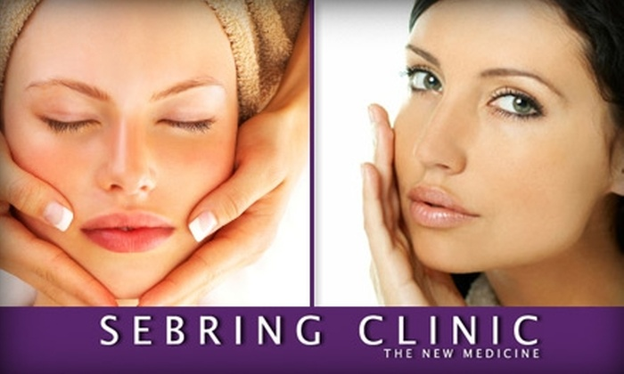 Sebring Clinic - West Lake Hills: $125 for a Four-Treatment Anti-Aging Package from The Sebring Clinic ($225 Value)