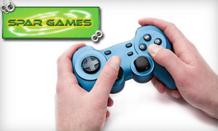 SPAR Games - West Fort Garry Industrial: $26 for Two Hours of Gaming for Four People at Spar Games ($53 Value)