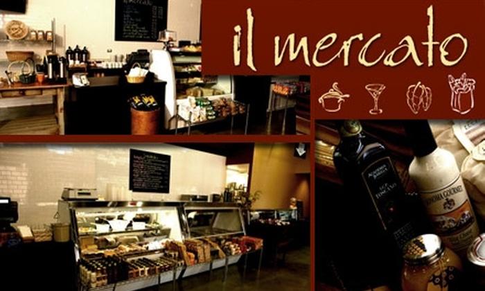 Il Mercato  - Strip District: $5 for $10 Worth of Premium Italian Market Goods and Deli Fare at il Mercato