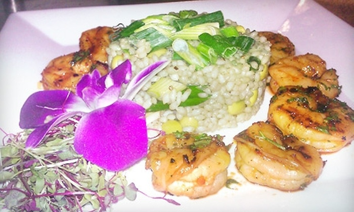 Simmeria Café and Bistro - Fleetwood: $25 for $50 Worth of Locally Grown Dinner Fare at Simmeria Café and Bistro in Fleetwood