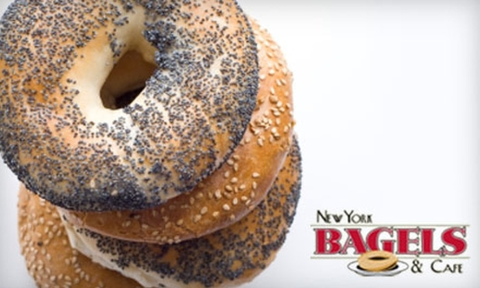 New York Bagels & Café  - Rancho Bernardo: $4 for $10 Worth of Bagels, Sandwiches, and More at New York Bagels & Café