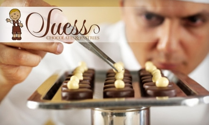 Suess Chocolates and Pastries - Harrison/ Denny Blaine: $25 for a Chocolate-Making Class, Plus 10% Off Retail Purchases, at Suess Chocolates and Pastries ($45 Value)
