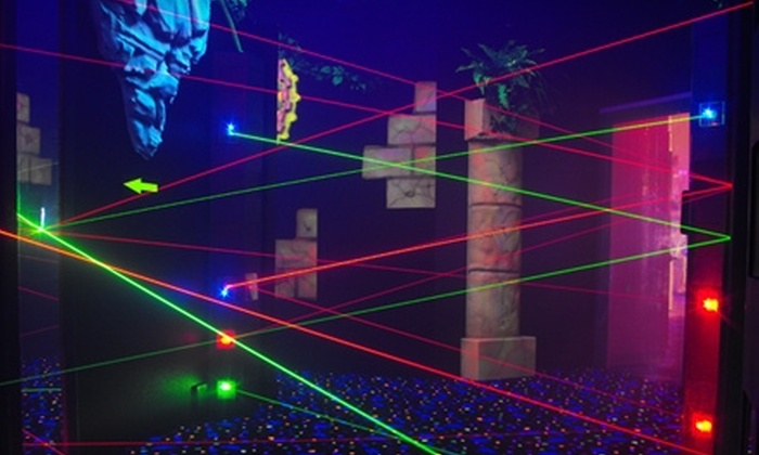 Xtreme Adventures Family Fun Center - Central Pasco: $40 for a Family Fun Pack with Xtreme Jump Passes and Laser Tag at Xtreme Adventure Family Fun Center in Lutz ($83.75 Value)