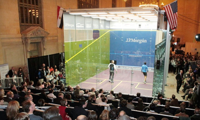 J.P. Morgan Tournament of Champions Squash - Murray Hill: One Ticket to Women's J.P. Morgan Tournament of Champions Squash at Grand Central on January 23 (Up to 52% Off)