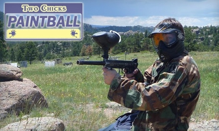 Two Chicks Paintball - Livermore: $16 for All-Day Field Access, Rental Equipment, and 200 Paintballs at Two Chicks Paintball in Virginia Dale ($35 Value)