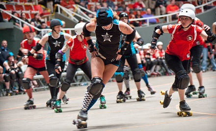 G-Rap Attack! vs. the Hammer City Harlots and the Grand Raggidy Roller Girls All Stars vs. the Hammer City Eh! Team at Rivertown Sports on Sat., Sep. 17 at 5PM: General Admission - Grand Raggidy Roller Girls in Grandville