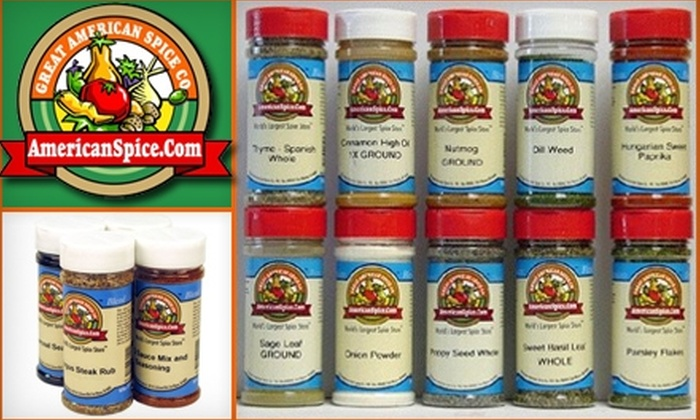 The Great American Spice Company - Fort Wayne: $10 for $20 Worth of Spices and Cooking Products at The Great American Spice Company