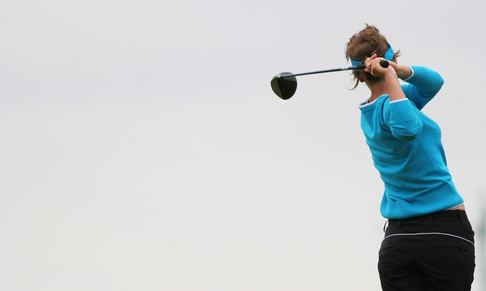 Cyber Creek Indoor Golf - Elma: Golf-Simulator Play for One, Two, or Four at Cyber Creek Indoor Golf (Up to 58% Off)