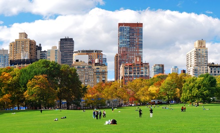 Walking Tour of Central Park for One, Two, or Four from Central Park Sightseeing (Up to 58% Off)