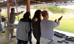 Shark Shooter: Two-Hour Concealed Carry Certificate Course for One, Two, or Four at Shark Shooter (Up to 44% Off)