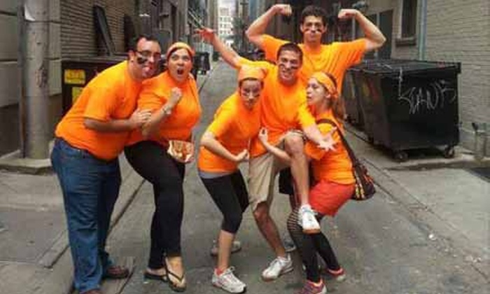 Urban Goose Chase - Baltimore: $46 for Registration for a Team of Up to Six at Urban Goose Chase on Saturday, August 31 ($99 Value)