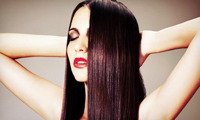 Fraiche Salon - Toronto: Agave Hair-Smoothing Treatment or Mini Highlights with a Deep-Conditioning Treatment at Fraiche Salon (Up to 75% Off)