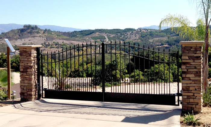 Wholesale Driveway Gate - Kent: 12-, 14-, 16-, or 18-Foot Gate or Iron Fence Panel from Wholesale Driveway Gate (50% Off)