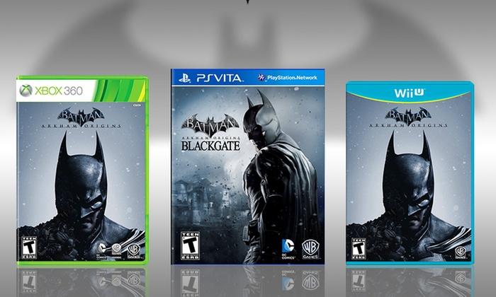 Batman: Arkham Origins or Batman: Arkham Origins Blackgate