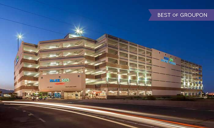 Park SFO - San Francisco International Airport: Three or Five Days of Indoor Airport Self-Parking at Park SFO (Up to 45% Off)