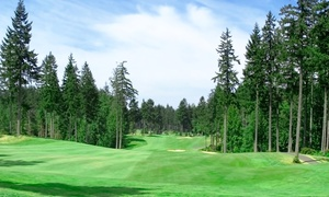 Columbia Golf: Golf for Two with Cart Rental and Beers from Columbia Golf (50% Off). Six Options Available.
