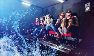 7D Turbo Ride at Palisades Center Mall: Admission for Two or Four to 7D Turbo Ride at Palisades Center Mall (Up to 50% Off)