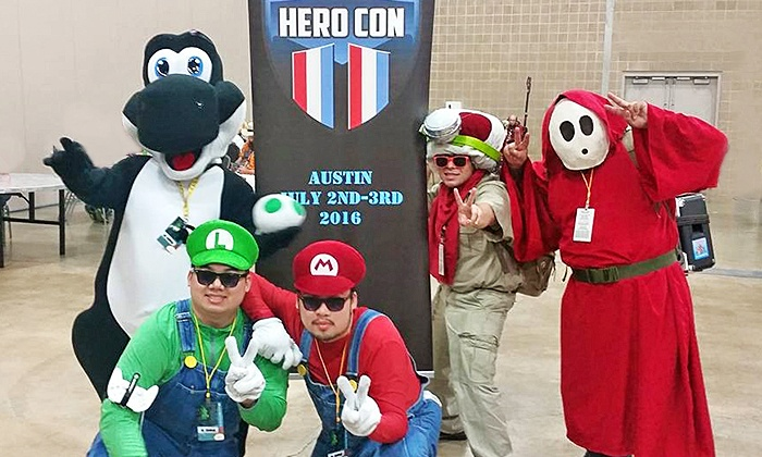 Hero Con Comic Con - Allandale: Two One-Day or Weekend Passes to Hero Con Comic Con on July 2 or 3 (Up to 40% Off)