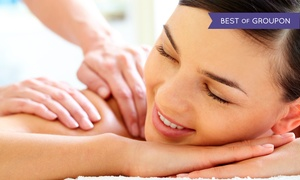 Mt. Tabor Massage: 45-, 60- or 90-Minute Relaxing Hot Stone Massage with Gift Basket at Mt. Tabor Massage (Up to 59% Off)