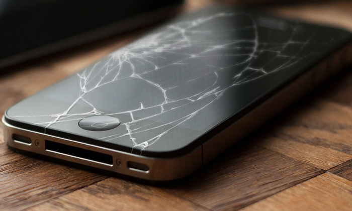 J&J Electronics ER - New Baltimore: Glass and LCD Screen Replacement for an iPhone 4, 4S, or 5 or an iPad at J&J Electronics ER (Up to 58% Off)