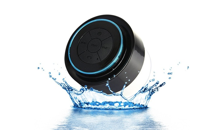 maze exclusive waterproof bluetooth shower speaker with builtin microphone