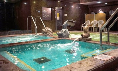 image for General Spa Admission with Optional Base Room Access for One at King Spa and Sauna Chicago (Up to 38% Off)