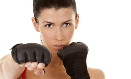 $22 for $45 Worth of One Month Unlimited MMA Themed W at FightFit15