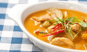BaiTong Thai Bistro: Thai Food at BaiTong Thai Bistro (Up to 42% Off). Two Options Available.