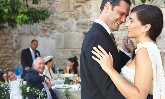 The Wedding Faktory - Chicago: $495 for a Four-Hour Wedding DJ Package with Dance-Floor Lighting from The Wedding Faktory ($995 Value)