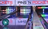 Pins N Pockets Entertainment - Lake Elsinore Hills District: Bowling and Shoe Rental for Up to Four or Six at Pins N Pockets Entertainment (Up to 47% Off)