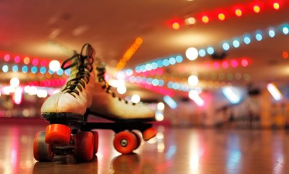 <strong>Roller-Skating</strong> Admission and Skate Rental for Two or Four People at Lanham Skate Center (Up to 38% Off)