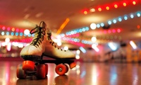 Skating Session for Two or a Family of Four at Newbridge Spin Entertainment (50% Off)