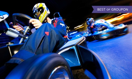 20 Go-Kart Laps for 10 People