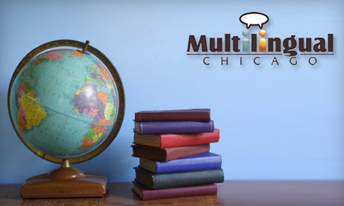 Multilingual Chicago - Avondale: $135 for a Full Adult Enrollment in an Eight-Week Language Course at Multilingual Chicago (Up to $299 Value)