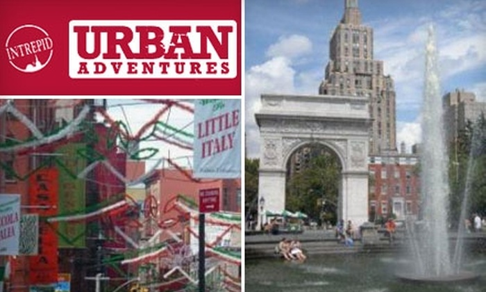 Urban Adventures - Multiple Locations: $17 for New York Heritage or New York Village Tour from Urban Adventures ($35 Value)