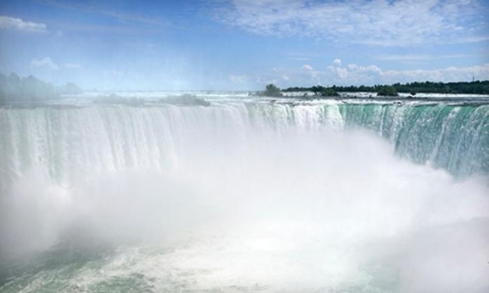 Niagara Falls State Park - Niagara Falls: $18 for Encounter Niagara Passes for Two at Niagara Falls State Park ($36 Value)