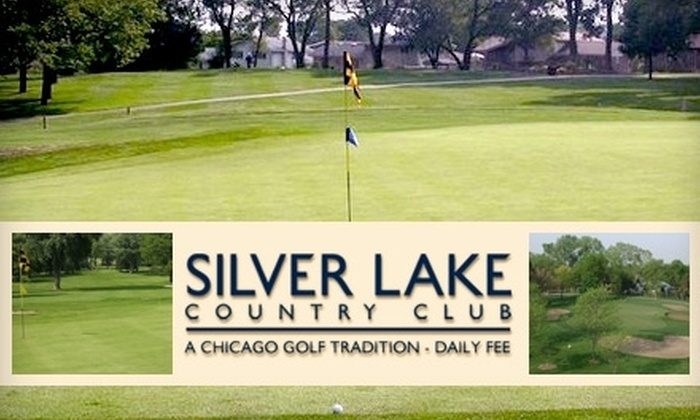 Silver Lake Country Club - Orland Park: $27 for 18 Holes of Golf Plus Golf Cart at Silver Lake Country Club (Up to $61 Value)