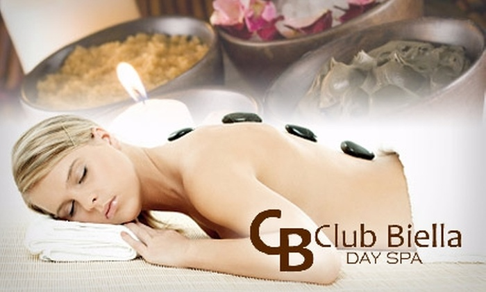 Club Biella - New Tacoma: $86 for a One-Hour Hot-Stone Massage and 45-Minute Rasul Mud Chamber Treatment at Club Biella