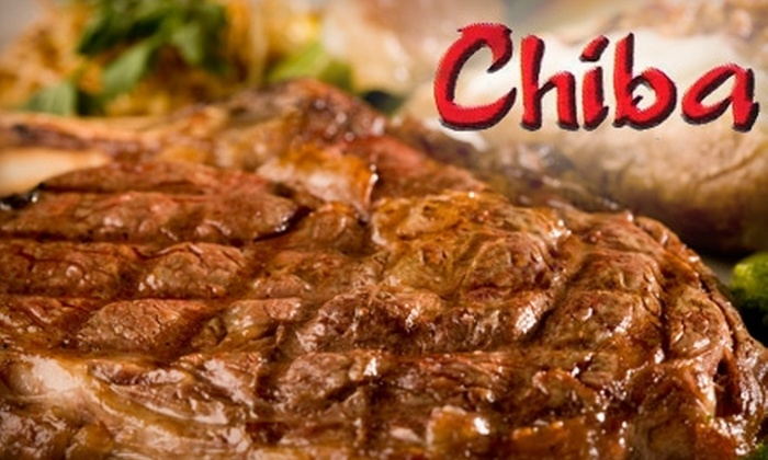 Chiba Japanese Steakhouse - Virginia Beach: $12 for $25 Worth of Steak, Seafood, and More at Chiba Japanese Steakhouse