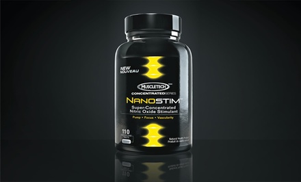 MuscleTech NanoStim 110-Count Rapid-Release Tablets