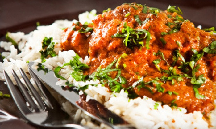 Maurya Palace - Edmonton: Indian Lunch or Dinner Buffet for Two or $15 for $30 Worth of Indian Fare at Maurya Palace