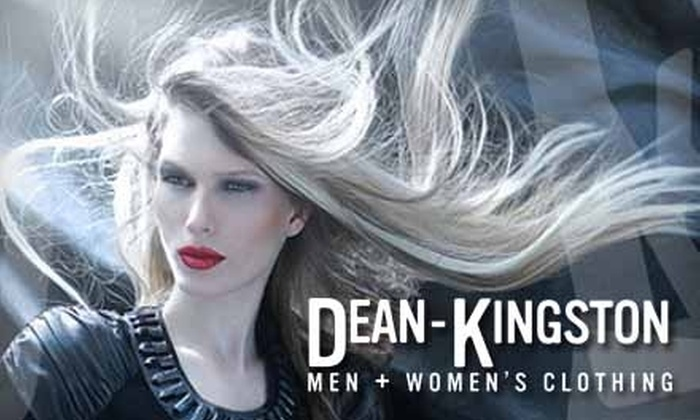 Dean-Kingston Clothing - Cultural District: $50 for $100 Worth of Men's and Women's Apparel and Accessories at Dean-Kingston Clothing