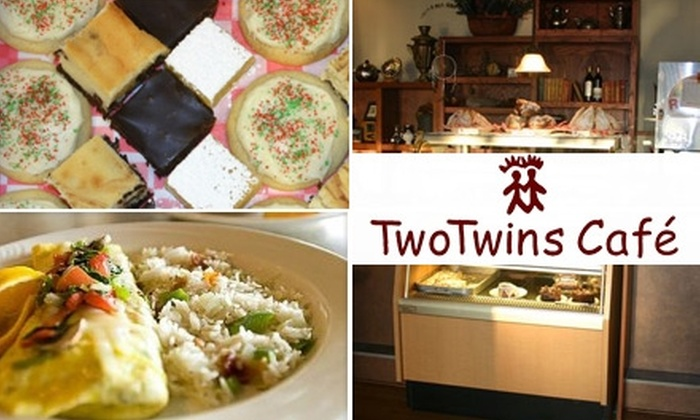 TwoTwins Café - Lincoln: $7 for $15 Worth of Home-Style Fare and Drink at TwoTwins Café
