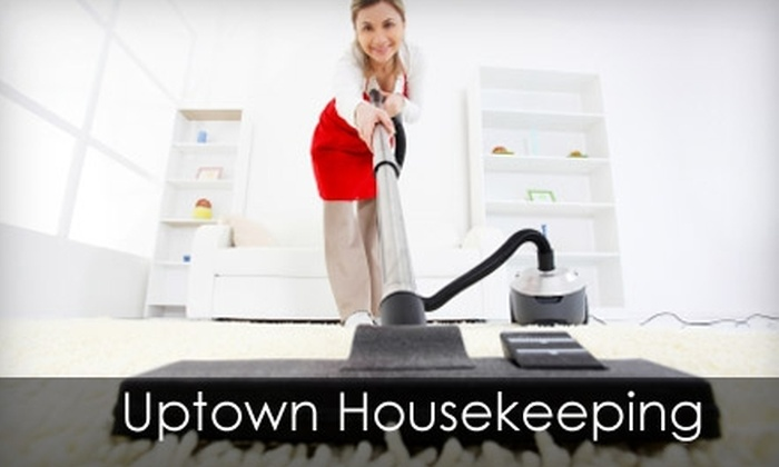Uptown Housekeeping - Dayton: $90 for a Full House Cleaning Lasting Up to Three Hours from Uptown Housekeeping