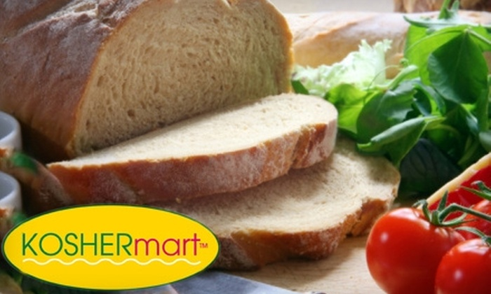 KosherMart - North Bethesda: $10 for $25 Worth of Groceries at KosherMart in Rockville