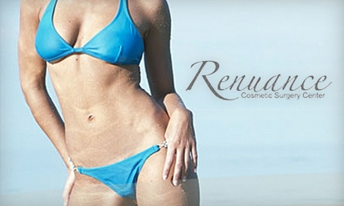 Renuance Cosmetic Surgery Center - Inland Empire: $125 for Three Sessions of Laser Hair Removal at Renuance Cosmetic Surgery Center (Up to $447 Value)