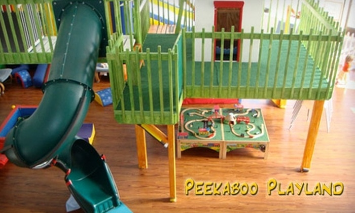 Peekaboo Playland - Eagle Rock: $40 for 10-Visit Pass at Peekaboo Playland in Eagle Rock ($90 Value)